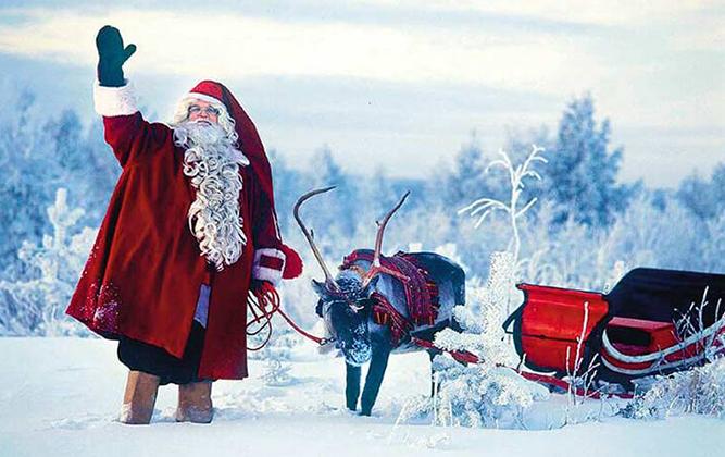 Ziemassvētku pasaka Lapzemē